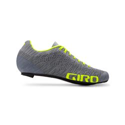 GIRO Empire E70 Knit Grey Heather/Hi Yellow 44