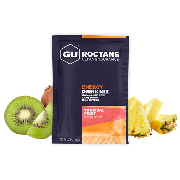 GU Roctane Drink 65 g-tropical fruit  1 SÁČEK (balení 10ks)