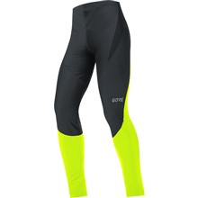 GORE C3 Partial WS Tights+-black/neon yellow-L