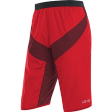 GORE C5 WS Insulated Shorts-red/chestnut red-M