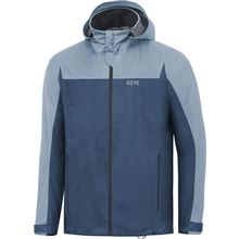 GORE R3 GTX Active Hooded Jacket-deep water blue/cloudy blue-M