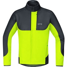 GORE C5 WS Thermo Trail Jacket-neon yellow/black-L