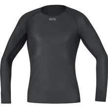 GORE M WS Base Layer Long Sleeve Shirt-black-M