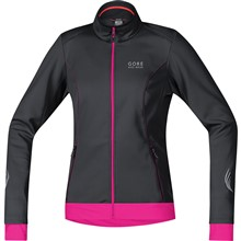 GORE Element Lady WS Soft Shell Jacket-black/magenta-42