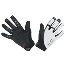 GORE Alp-X 2.0 Long Gloves-white/black-10