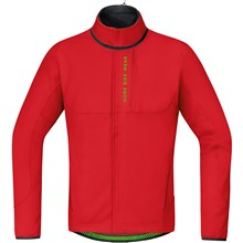 GORE Power Trail WS Soft Shell Thermo Jacket-red-M