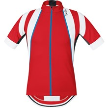 GORE Oxygen Jersey-red/white-XL