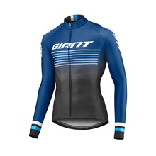 GIANT Race Day Mid-Thermal L/S Jersey-black/navy-M