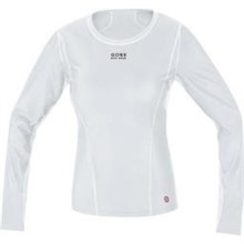 GORE Base Layer WS Lady Shirt long-light grey/white-38