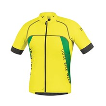 GORE Alp-X PRO Jersey-cadmium yellow/fresh green-M