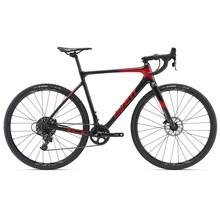 GIANT TCX Advanced-M19-M-gun metal black/pure red/black