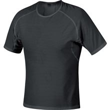 GORE M WS Base Layer Shirt-black-L