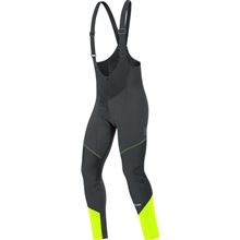 GORE Element WS SO Bibtights+-black/neon yellow-M