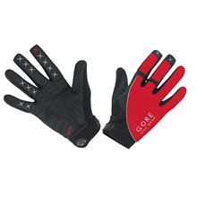 GORE Alp-X 2.0 Long Gloves-red/black-10
