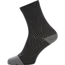 GORE C3 Optiline Mid Socks-graphite grey/black-44/46