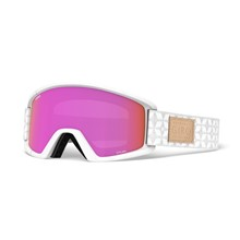 GIRO Dylan White Quilted Amber Pink/Yellow (2Skla)