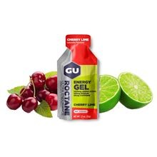 GU Roctane Energy Gel 32 g - Cherry/Lime1 SÁČEK (balení 24ks)