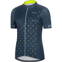 GORE C3 Women Jersey E-deep water blue/cloudy blue-38