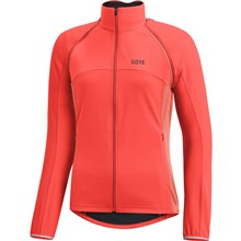 GORE C3 Women WS Phantom Zip-Off Jacket-lumi orange-38