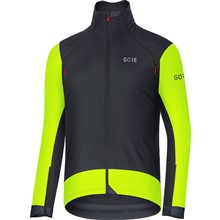 GORE C7 WS Pro Jacket-black/neon yellow-L