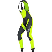 GORE Xenon 2.0 WS Soft Shell Bibtights+-black/neon yellow-L