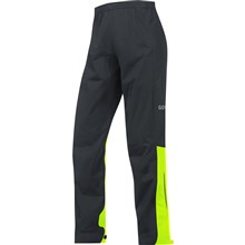 GORE C3 GTX Active Pants-black/neon yellow-L