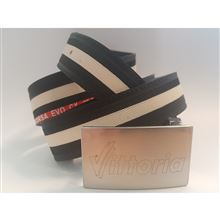 Belt Vittoria-blk/blk/anth with Zip case