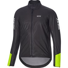 GORE C5 GTX Shakedry 1985 Insulated Viz Jacket-black/neon yellow-L