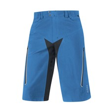 GORE Alp-X Shorts+-splash blue/black-M