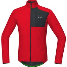 GORE C5 Thermo Trail Jersey-red/black-M