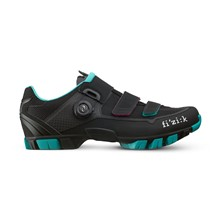 FIZIK M6B Donna-black/emerald green-37.5