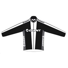 GIANT Off Road Team Jersey LS-black/white/grey-XXL