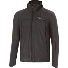 GORE R5 GTX Infinium Soft Lined Hooded Jacket-black-L
