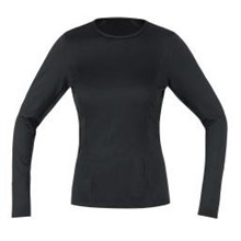 GORE Base Layer Lady Shirt Long-black-42