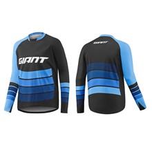 GIANT Transfer LS Jersey-black/blue-XL