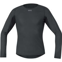 GORE M WS Base Layer Thermo L/S Shirt-black-L
