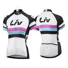 LIV Race Day SS Jersey-white/black-L