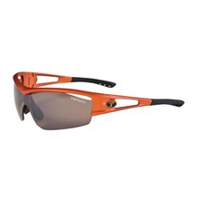 Tifosi Logic-Matte Orange/interch/Brown,AC Red,Clear