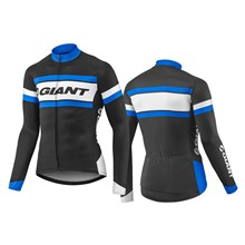 GIANT Rival LS Jersey-black/blue-M