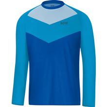 GORE C5 Trail Long Sleeve Jersey-dynamic cyan-M