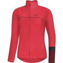 GORE C5 Women Thermo Jersey-hibiscus pink/chestnut red-36