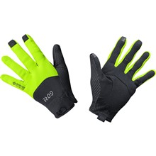 GORE C5 GTX Infinium Gloves-black/neon yellow-9