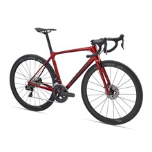 TCR Advanced Pro 1 Disc-M20-L-gloss metallic red/matte black