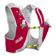 CAMELBAK Ultra Pro Vest Crimson Red/Lime Punch L