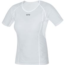 GORE M Women WS Base Layer Shirt-light grey/white-40