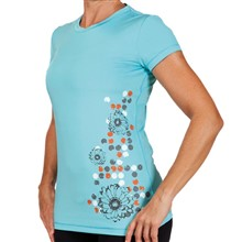 ZOIC Women´s Elysian Tee tech tee-light blue-XL