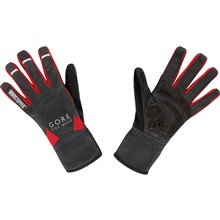 GORE Universal WS Mid Gloves-black/red-10