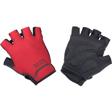 GORE C5 Short Gloves-black/red-10