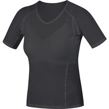 GORE M Women Base Layer Shirt-black-34