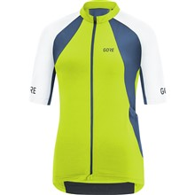 GORE C7 Women Pro Jersey-citrus green/white-38